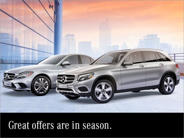 Great offers are in season.