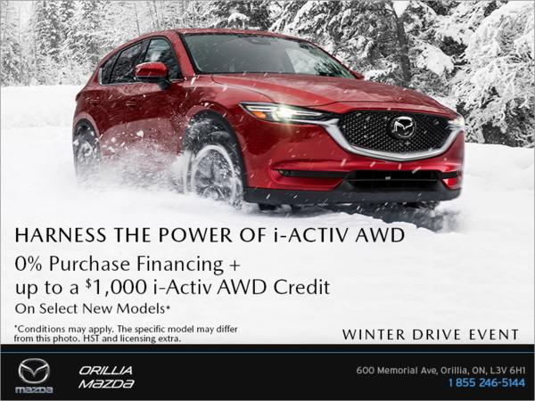 Orillia Mazda - Mazda Winter Drive Event!