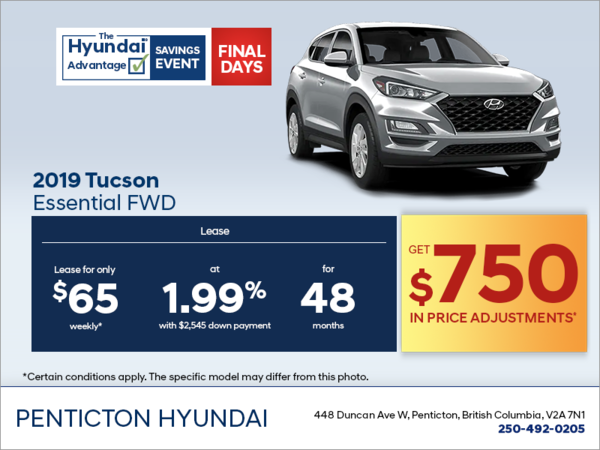 Get the 2019 Tucson today!