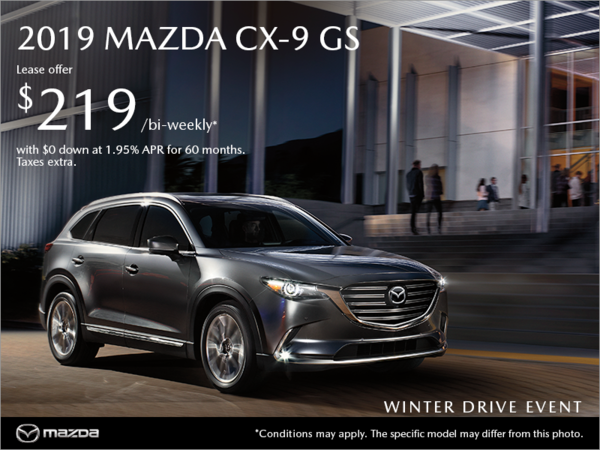Regina Mazda - Get the 2019 Mazda CX-9 today!