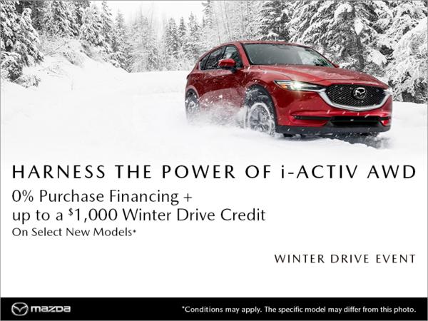Regina Mazda - Mazda Winter Drive Event!