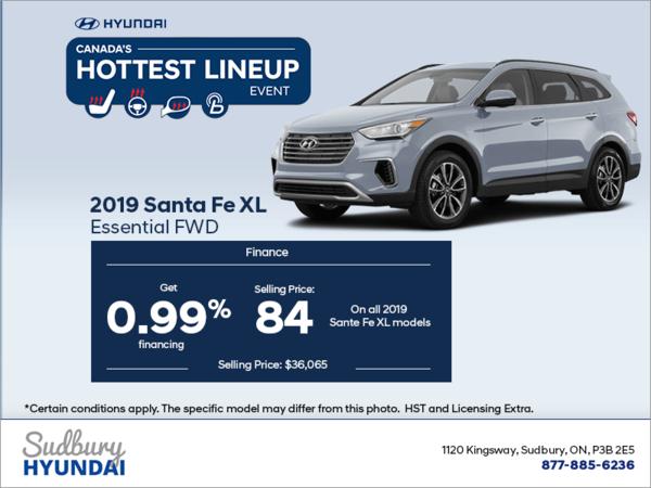 Get the 2019 Santa Fe XL