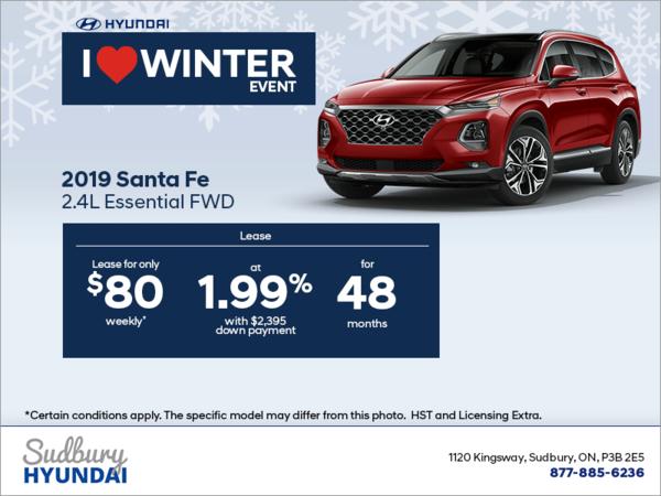 Get the 2019 Santa Fe