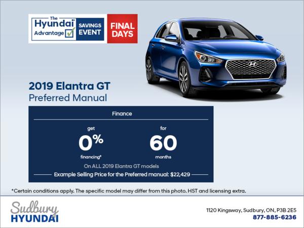 Get the 2019 Elantra GT