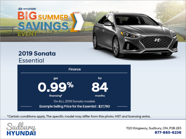 Finance the 2019 Sonata!