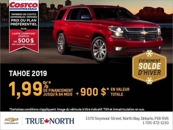 Financez le Chevrolet Tahoe 2019