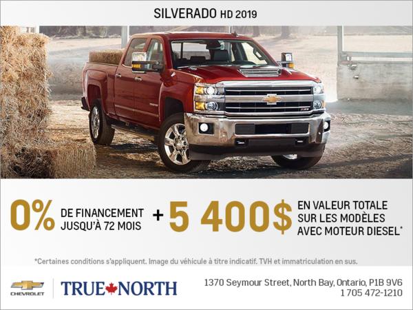 Obtenez le Chevrolet Silverado 2500 HD 2019