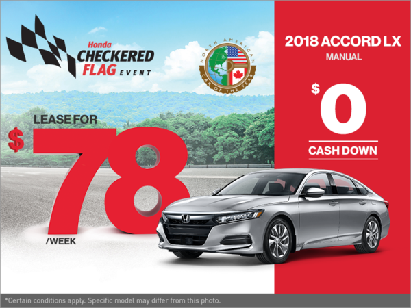 Get the 2018 Honda Accord Today!