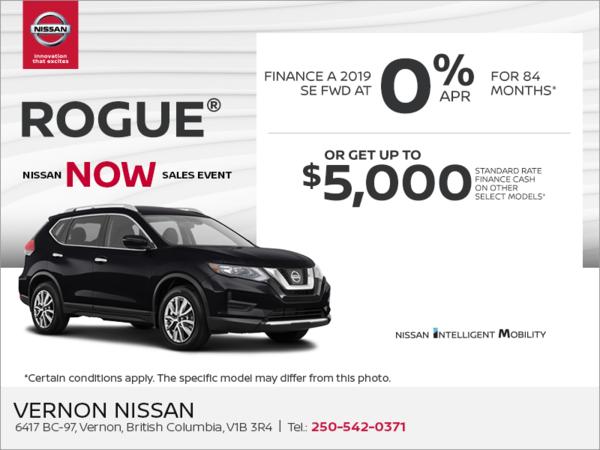 Vernon Nissan | The 2019 Rogue S in Vernon