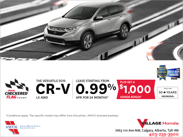 Lease the 2019 CR-V Today!