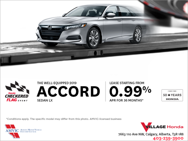 Lease the 2019 Honda Accord Sedan Today!