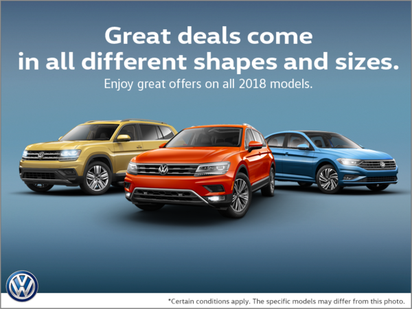 Great deals come in all different shapes and sizes.