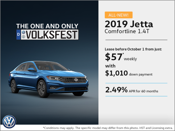 Get the 2019 Jetta Today!