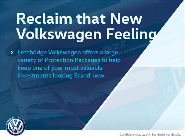 Lethbridge Volkswagen Protection Packages