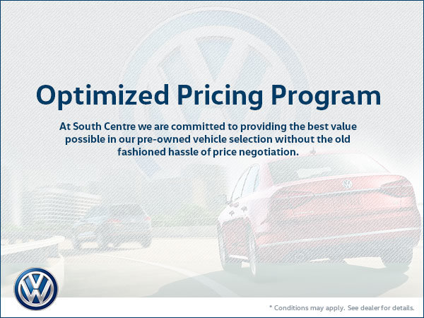 Optimized Pricing Program