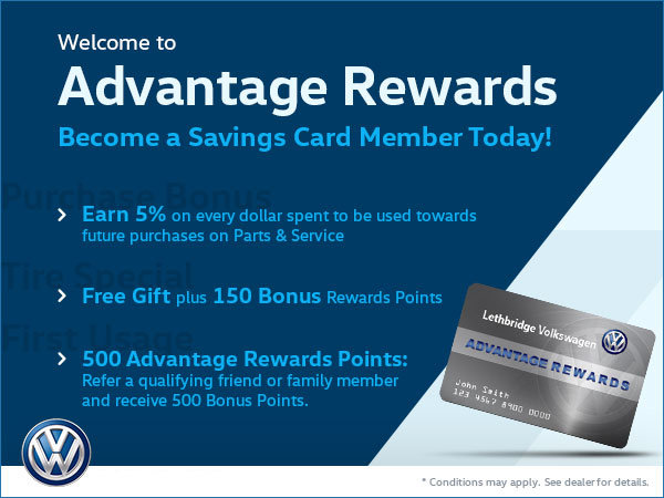 Advantage Rewards Card