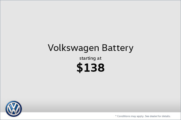 Volkswagen Battery at $138