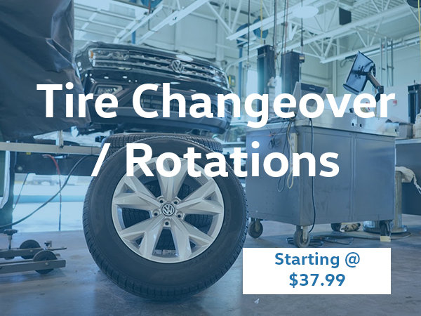 Tire Changeovers and Rotations