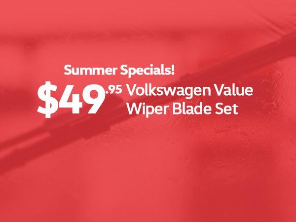 VW Value Wiper Blades
