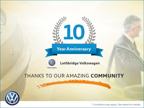 Celebrating 10 Years of Lethbridge Volkswagen