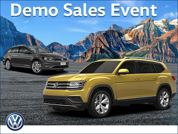 Fall Demo Sales Event