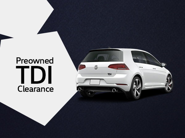 Preowned TDI Clearance!