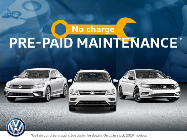 No-Charge Pre-Paid Maintenance