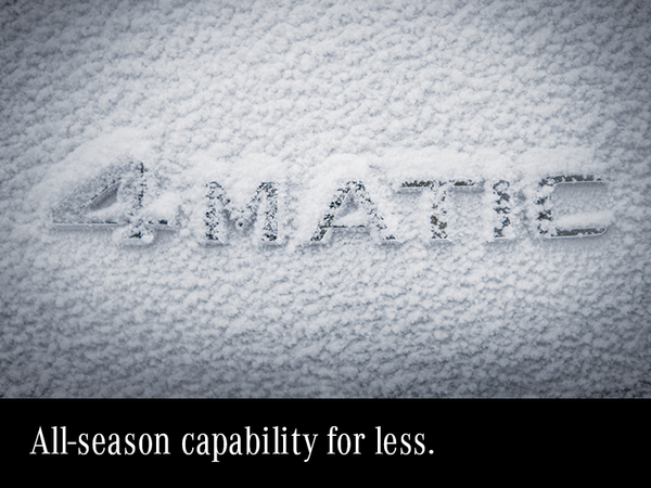 All-season capability for less.