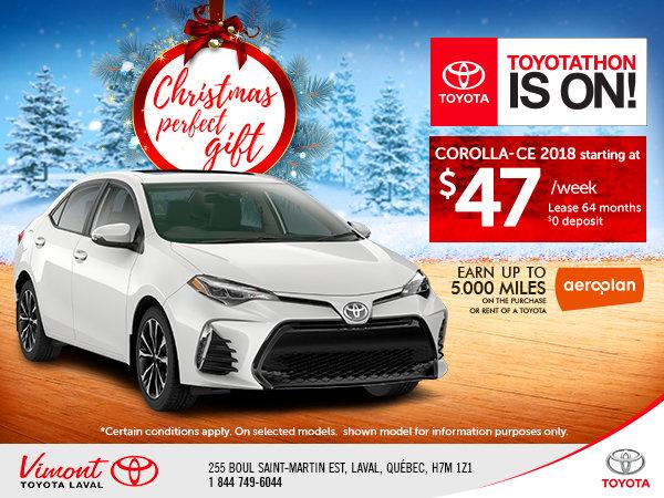 Toyotathon is on - Corolla