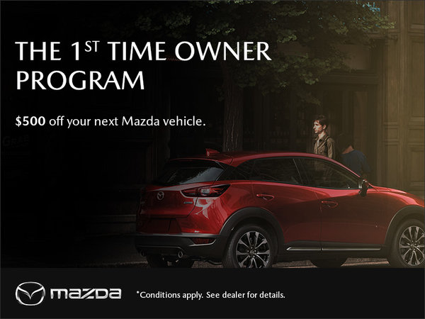 Guelph City Mazda - Mazda 1st Time Owner Program