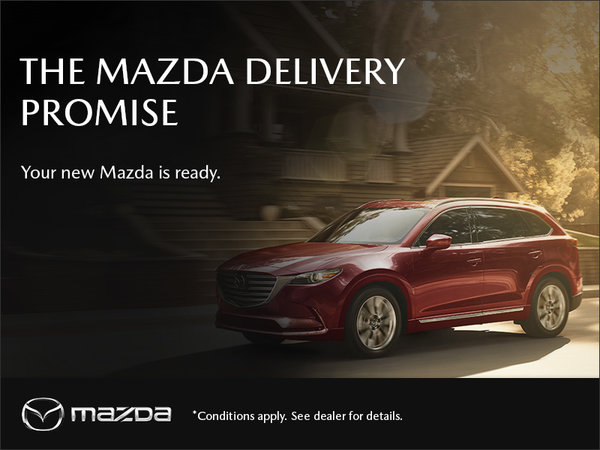 Guelph City Mazda - The Mazda Delivery Promise