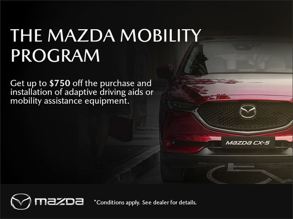 Gerry Gordon's Mazda - The Mazda Mobility Program