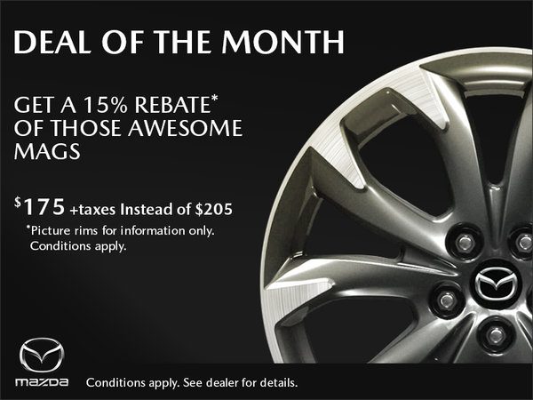 Duval Mazda - Deal of the Month - Mags