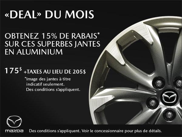 Duval Mazda - « Deal » du mois - Jantes