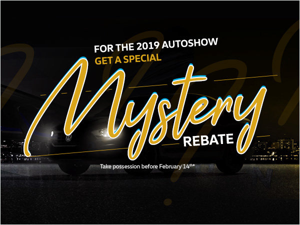 Get a Special Mystery Rebate