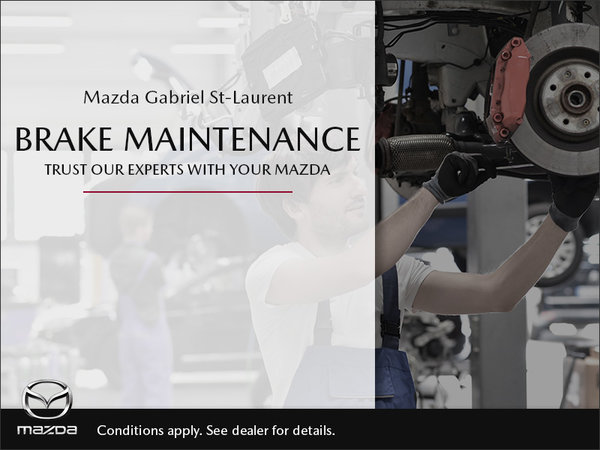 Mazda Gabriel St-Laurent - Brake Maintenance