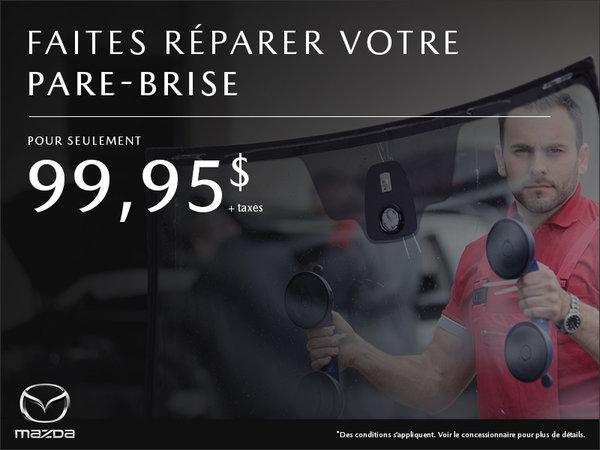 Mazda Repentigny - Réparation pare-brise