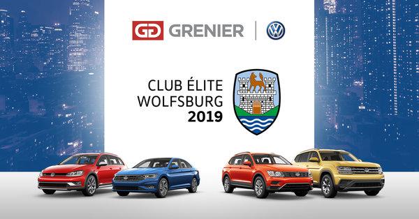 Grenier Volkswagen : Membre Club Wolfsburg 2019!