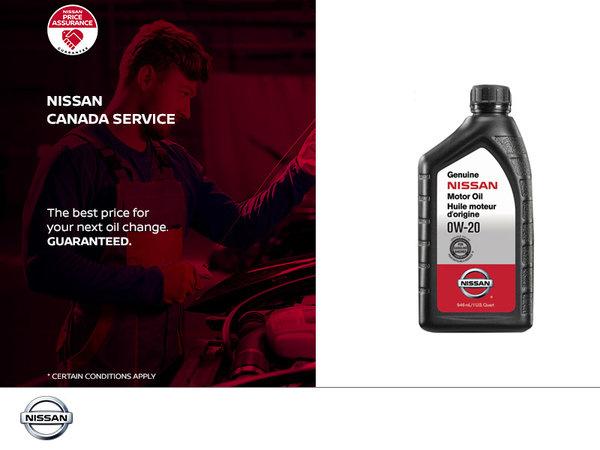 Nissan Service Oil Change