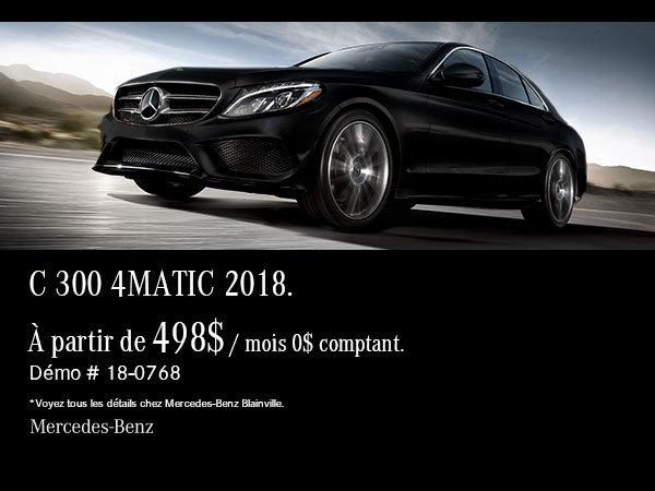 Mercedes-Benz Classe C 300 2018 démonstrateur