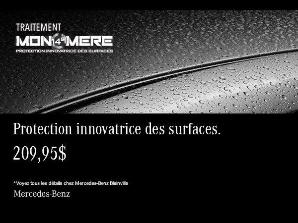 Protection innovatrice pour votre Mercedes-Benz.