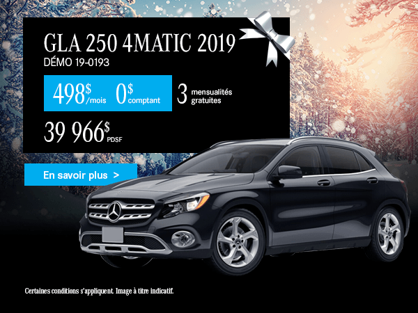 GLA250 4MATIC 2019