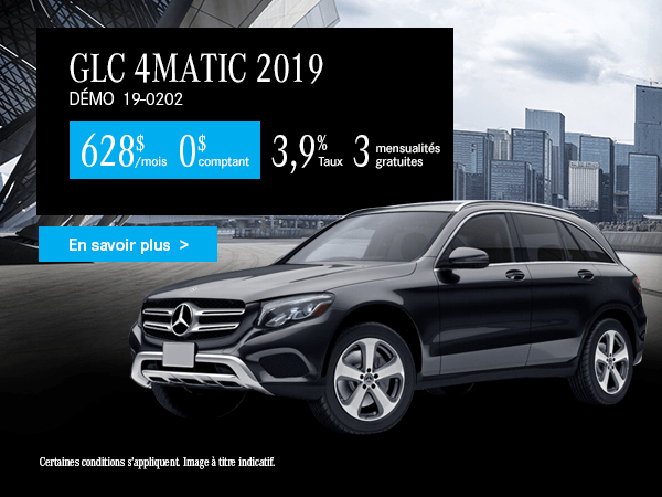 Louez la Mercedes-Benz GLC 2019