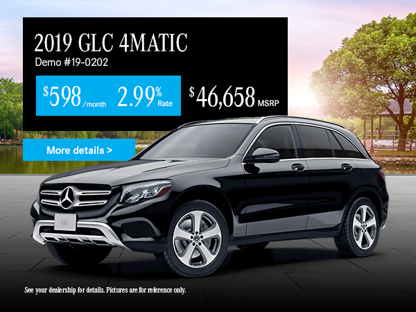 Lease the GLC300 Mercedes-Benz