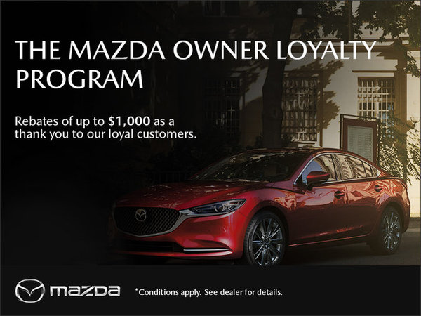 Mazda Drummondville - The Mazda Owner Loyalty Program