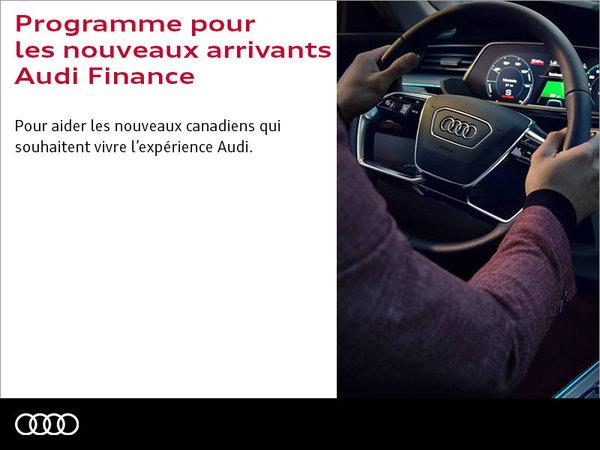 Programme pour les nouveaux arrivants Audi Finance