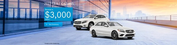 2019 GLA and Class C
