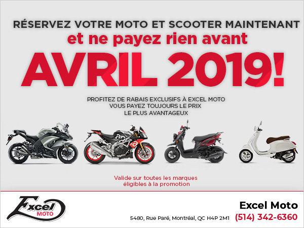 Réservez votre moto et scooter