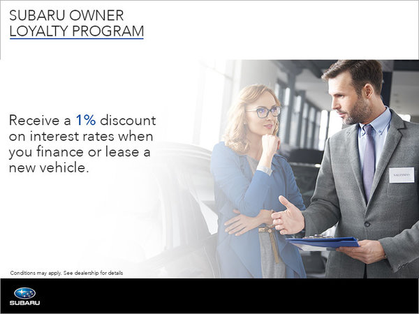 Subaru Owner Loyalty Program