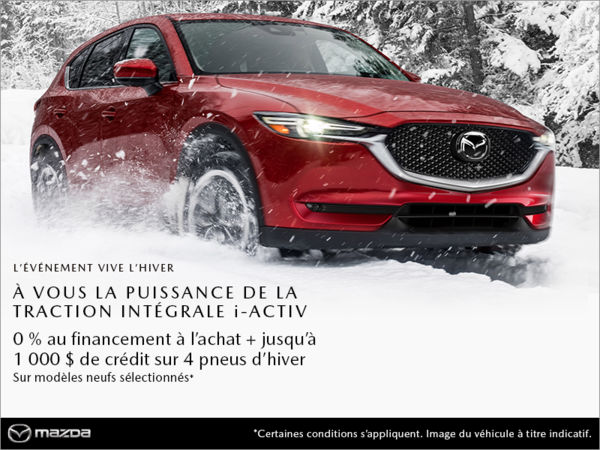 Mazda Gabriel St-Laurent - L'événement vive l'hiver Mazda!